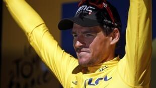Greg Van Avermaet, el nuevo líder del Tour de Francia 2016.