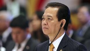 Thủ tướng Việt Nam Nguyễn Tấn Dũng tại hội nghị thượng đỉnh ASEAN - Ấn Độ ở New Delhi ngày 20/12/2012.