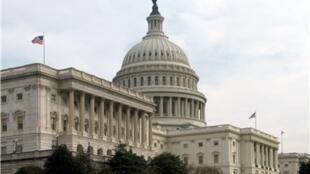 O Congresso americano, em Washington.