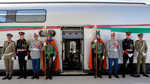 The launch of the first High Speed Train to operate in Africa, in Tangiers