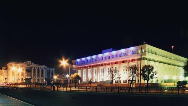Здание Тамбовской областной думы и областной администрации