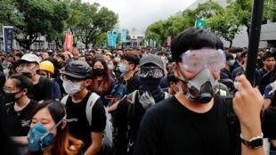 دانش آموزان هنگ کنگی