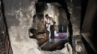 Rebeldes em Aleppo, Síria, 10/09/2013.