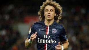 O zagueiro do Paris Saint-Germain David Luiz.