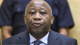 Laurent Gbagbo, Februari 2013 Hague.