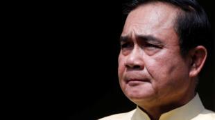 Le Premier ministre thaïlandais Prayuth Chan-ocha, ancien commandant en chef de l'Armée royale thaïlandaise, le 10 mai 2016 à Bangkok.