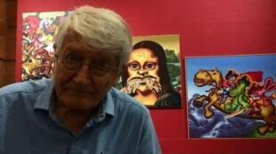 美國波普藝術教父彼得·索爾(Peter Saul)
