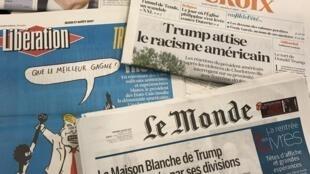 Primeiras páginas dos jornais franceses 17/08/2017