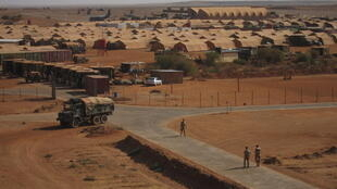 French military base in Gao, northern Mali