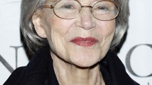 Nữ diễn viên điện ảnh Pháp Emmanuelle Riva, tại New York, 07/01/2013