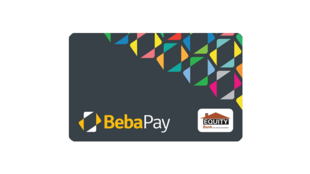 Google's BebaPay card uses Near Field Communication (NFC) technology to make transactions