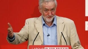 Jeremy Corbyn, leader sortant des travaillistes britanniques.