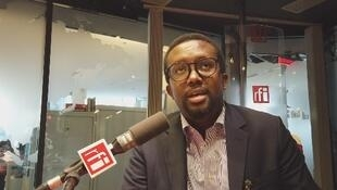 Omar Faruk Osman Nur, head of the National Union of Somali Journalists in Paris, 23 January 2020