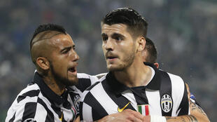 Alvaro Morata (right) scored the decisive goal against Real Madrid in the semifinals of the Champions League