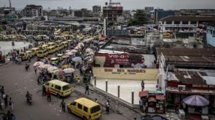 Scènes de rue à Kinshasa (image d'illustration).