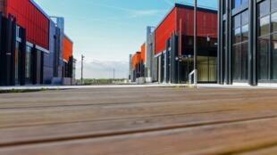 """""""Silk Road Paris"""" apresentado esta quarta-feira, em Tremblay-en-France, nos arredores de Paris."""