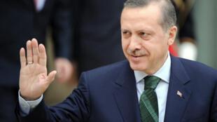 Le Premier ministre turc, Recep Tayyip Erdogan, s'est rendu à Téhéran dimanche soir 16 mai 2010.