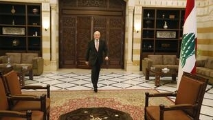 Lebanon's Prime Minister Tammam Salam