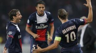 O PSG pode garantir vaga hoje se vencer o Anderlecht.