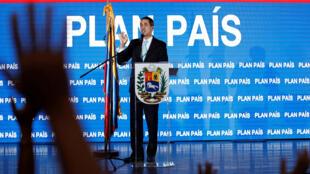 L'opposant Juan Guaido à Caracas, le 31 janvier 2019.