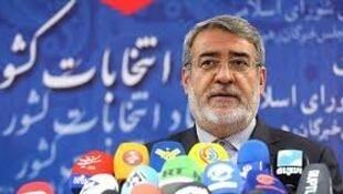 رحمانی فضلی در نشست خبری با خبرنگاران حاضر در ستاد انتخابات کشور