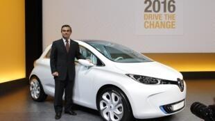 Carlos Ghosn falou da importância do mercado brasileiro para a montadora francesa Renault .