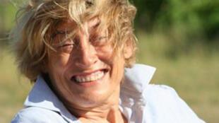 Photo non datée de Marie Dedieu, la française kidnappée le 1er octobre 2011, sur l'Île de Manda au Kenya.