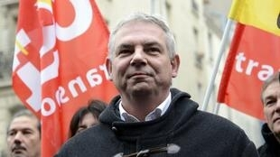 Union leader Thierry Lepaon believes he failed to convince the public of the need for the rail strike