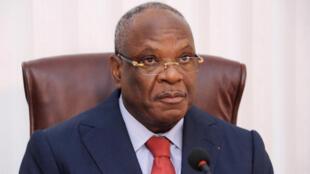 Le président malien Ibrahim Boubacar Keïta, le 9 septembre 2013, à Bamako.