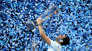 Grigor Dimitrov is the first debutant to win the trophy since Alex Corretja in 1998.