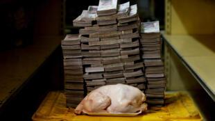 14.600.000 bolivares era até 20/08/2018 o preço de um frango.
