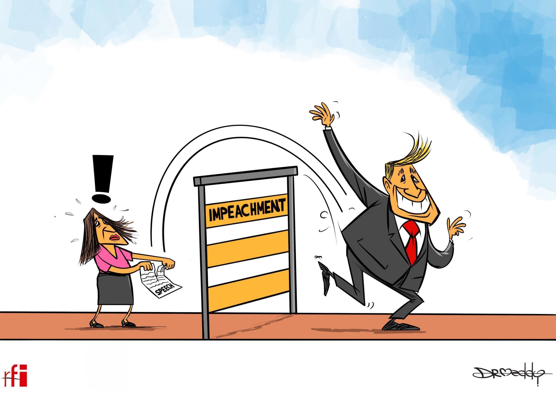 Majalisar Dattawan Amurka ta wanke shugaba Donald Trump a tuhumar tsige shi (05/02/2020).