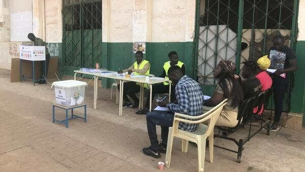 Mesas de voto da segunda volta das eleições presidenciais na Guiné Bissau