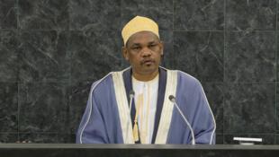 Le président comorien Ikililou Dhoinine.