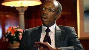 L'ancien président haïtien Jean-Bertrand Aristide, à Pretoria, en 2006.