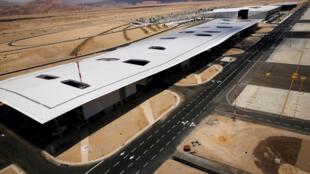 Le nouvel aéroport international israélien Ramon est situé près de la mer Rouge et a pour objectif d'encourager le tourisme dans cette région.