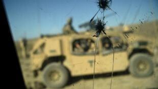 Des soldats américains dans la province de Nangarhar à l'est de l'Afghanistan, le 7 juillet 2018