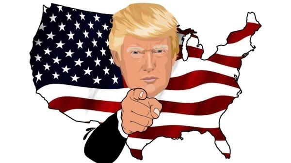 美國媒體刊登特朗普與競選合成圖