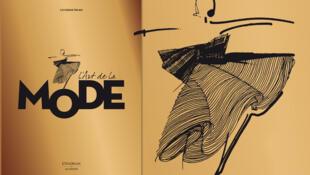 Catherine Örmen présente son bel ouvrage intitulé « L'Art de la Mode ».