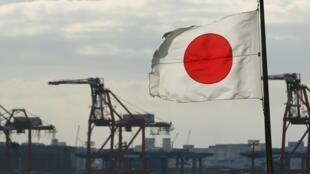 Một cảng container ở Tokyo. Ảnh chụp ngày 19/12/2012.