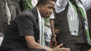 Zambian President Edgar Lungu on 10 August, 2016 in Lusaka