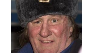 Жерар Депардье в аэропорту Грозного 24/02/2013 (архив)