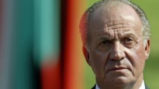 O rei Juan Carlos da Espanha abdicou nesta segunda-feira, 2 de junho de 2014, em favor do príncipe Felipe.