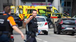 По данным RTBF, открывший огонь в Льеже мог радикализироваться в тюрьме