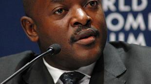 Pierre Nkurunziza, President of Burundi, captured during the Opening Plenary of the World Economic Forum on Africa 2008 in Cape