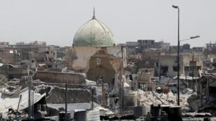 Forças iraquianas anunciam retomada da mesquita Al-Nuri em Mossul, local onde o EI autoproclamou seu califado.