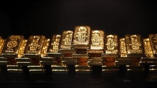 中國連續8年雄踞黃金生產第一大國 圖為金磚