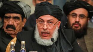 Shugaban sashen siyasar kungiyar Taliban Sher Mohammad Abbas Stanakzai