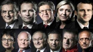 Candidatos presidenciais