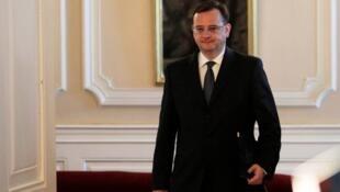 捷克總理遞交辭呈2013年6月17日布拉格城堡